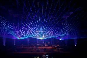 Lasery na koncercie
