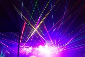 Lasery i wyrzutnie ognia na dniach Lublina